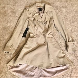 NWT Bebe Trench Coat Size XS